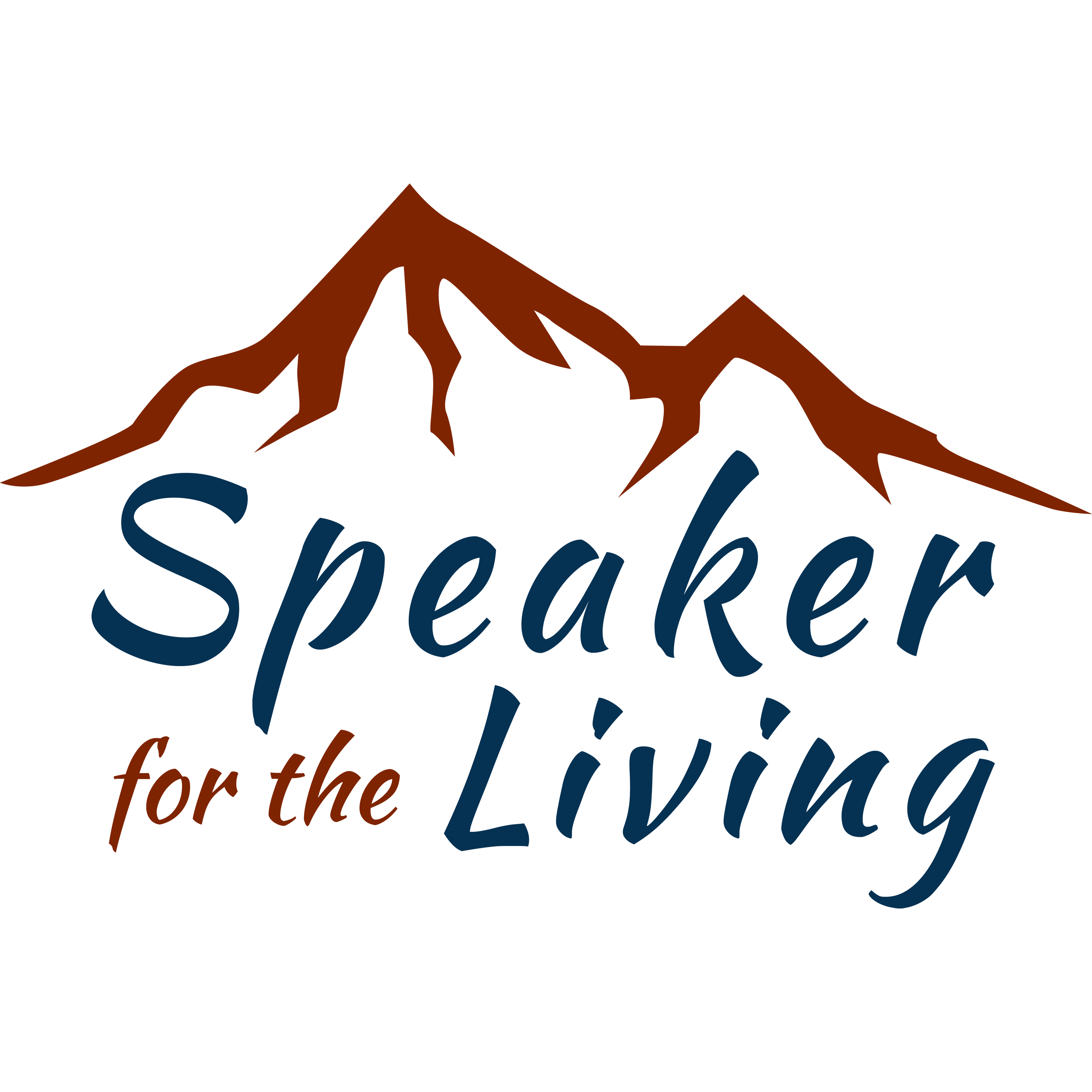 Speaker for the Living 'Human Trafficking' Podcast